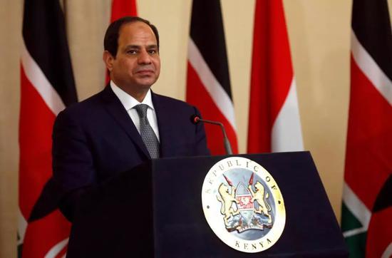 ▲埃及总统阿卜杜勒-法塔赫・塞西(路透社)