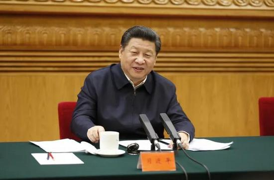 △2016年2月19日,习近平在北京主持召开党的新闻舆论工作座谈会并发表重要讲话。