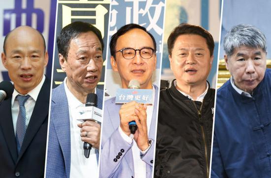 国民党公布提名初选名单(来源:台媒)