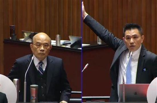 """吵赢苏贞昌后 蓝营民代18字断言民进党""""输到脱裤"""""""