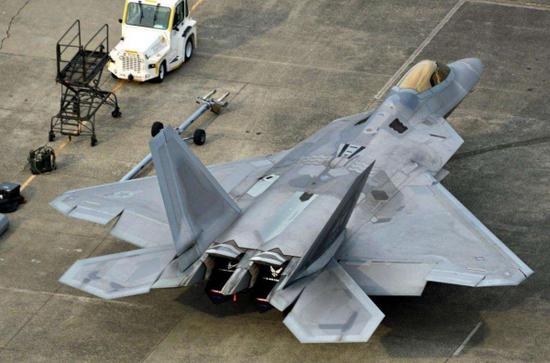 原料图片:美空军F-22隐身战机。(图片来源于网络)