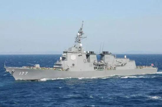 ▲日本海上自卫队装备的导弹驱逐舰