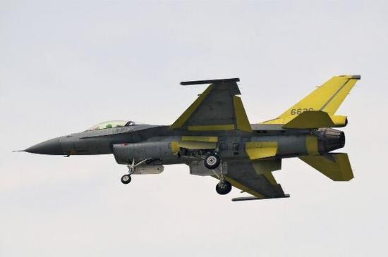 美国为台湾升级的F-16V战斗机