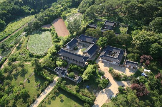 韩国安东屏山书院(韩联社)