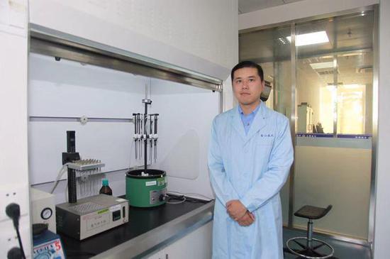 在刘缙的勤苦下,金山公守纪局毒化实验室议决CMA资质认定