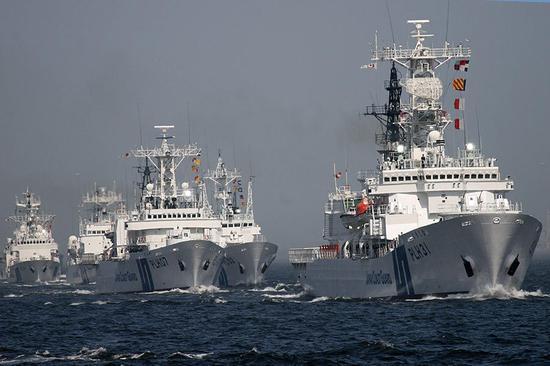 日本海保厅船队 图片来自互联网