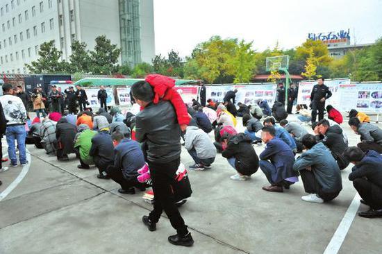 西安市公安局打击传销违法犯罪行动在经开 浐灞等多地同步打响