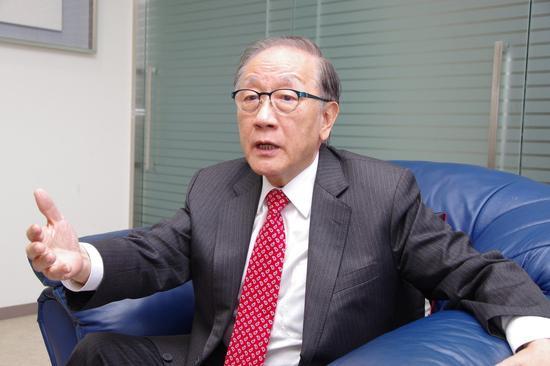 新党主席郁慕明(来源:台湾《说相符报》)