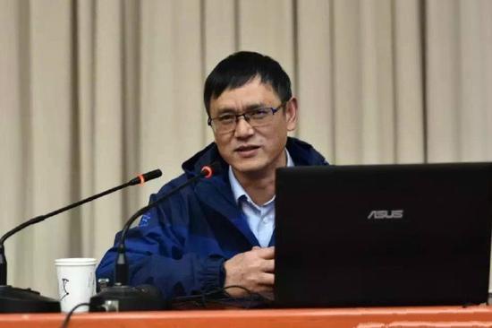 计秋枫。图/南京大学历史学院官方微博