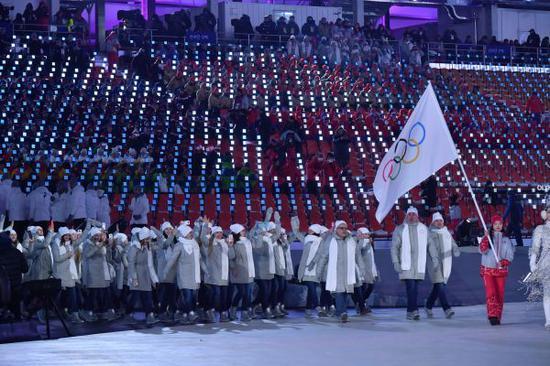 国际奥委会先前已不准俄罗斯参添2018年平昌冬奥会。新华社记者吕幼炜摄