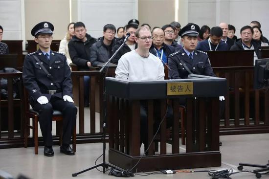 庭审现场(图片来源:大连市中院)