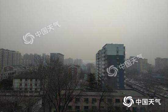 北京空气重污染橙色预警中 5日空气质量将转好