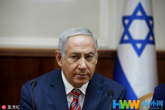 伊朗和以色列经常隔空互呛要从地图上抹掉对方,图为以色列总理内塔尼亚胡。(图:东方IC)