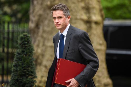 英国国防大臣加文·威廉姆森。(图源:CNBC)