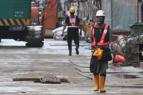 图为台湾劳工资料图片(来源:台媒)
