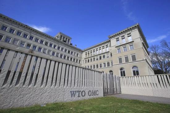 ▲资料图片:位于瑞士日内瓦的世界贸易组织总部大楼(新华社)