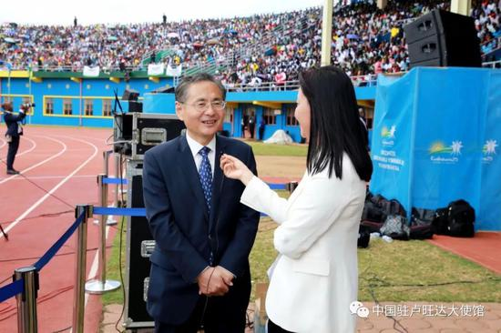 图片来源:中国驻卢旺达大使馆