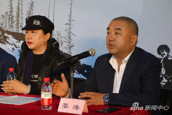 该剧特邀中央戏剧学院导演系主任、著名导演姜涛执导。发布会现场,姜涛导演为大家分享该剧的创作过程。