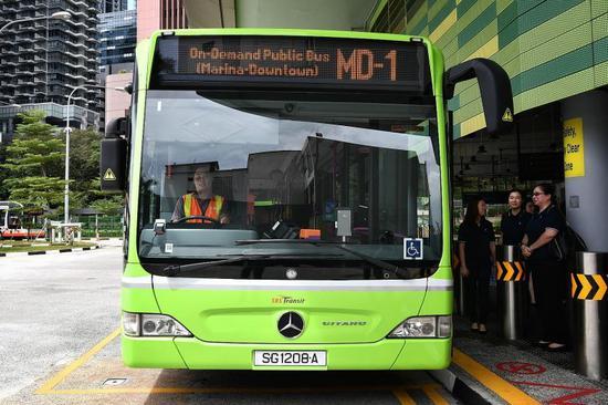 新加坡的公共交通覆盖了全国大部分地区
