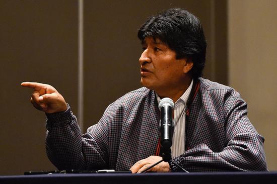 玻利維亞前總統:所乘直升機迫降是蓄意謀殺