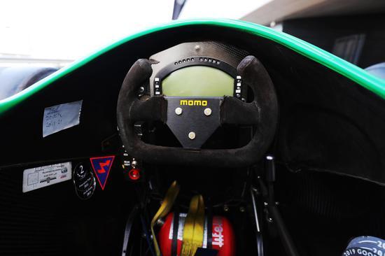 舒马赫握过的F1方向盘