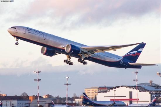 △图片:俄航班机资料图,莫斯科机场提供