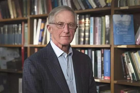 ▲威廉・诺德豪斯(William D.Nordhaus)1941年出生于美国新墨西哥州阿尔伯克基。