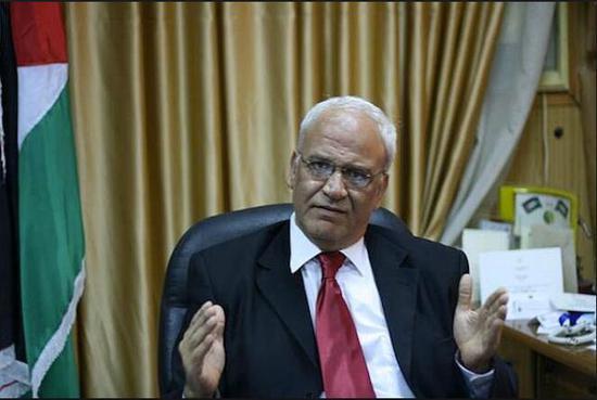 (巴勒斯坦高级官员赛义卜·埃雷卡特)
