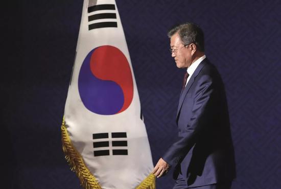 (資料圖片)韓國總統文在寅。圖/ 美聯