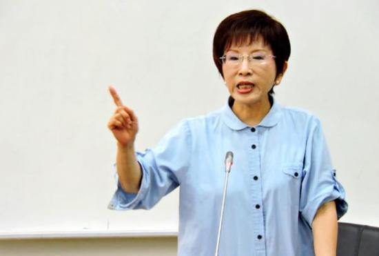 国民党前主席洪秀柱 资料图