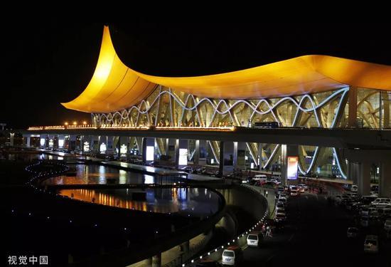 ▲材料图片:昆明长水国际机场