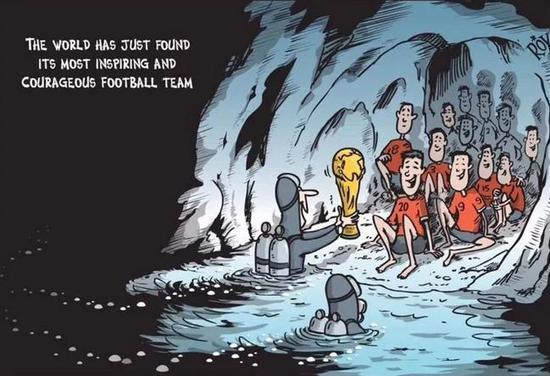 """""""世界刚刚发现了一支最棒的足球队"""""""
