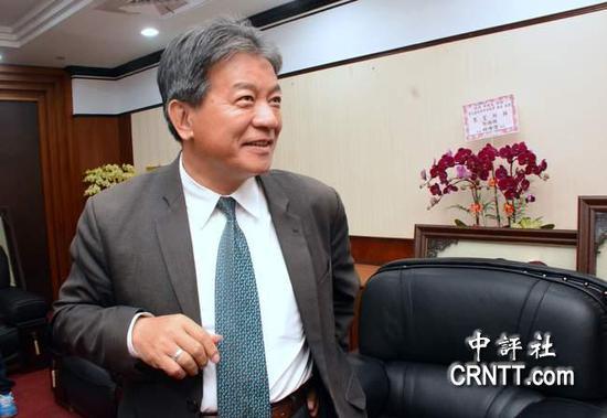 台南市议长郭信良(图片来源:香港中评社)