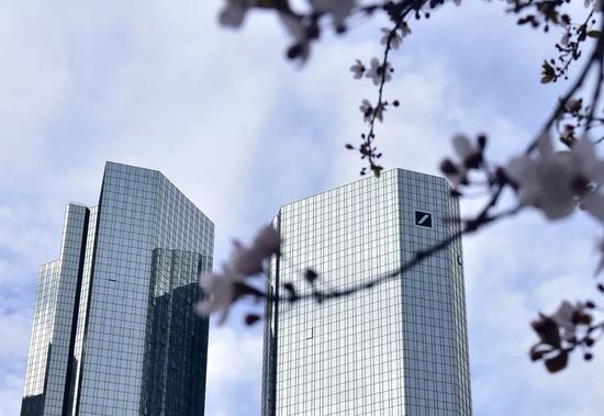 ▲资料图片:德意志银行总部大楼