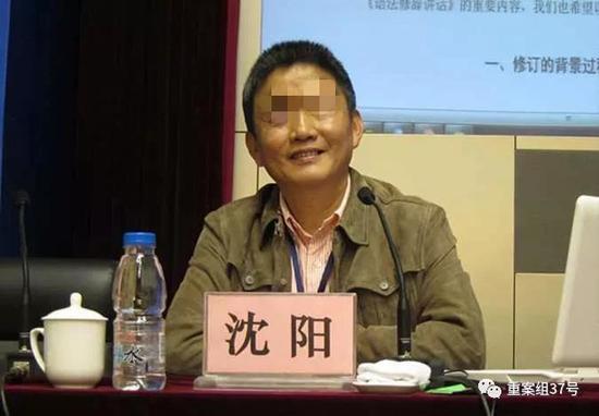 ▲南京大学教授沈阳。资料图片