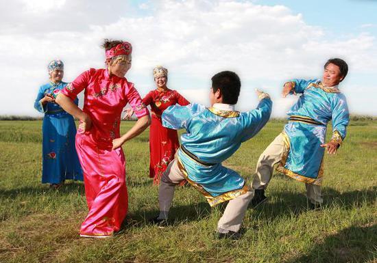 锡伯族贝伦舞