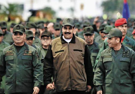 委内瑞拉总统马杜罗(路透社)