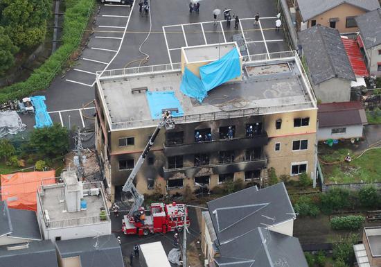 京都纵火案伤员8成年龄20至30多岁 仍有7人住院