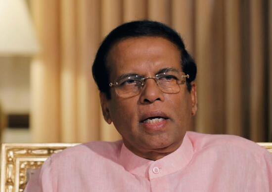 斯里兰卡总统西里塞纳(图源:路透社)