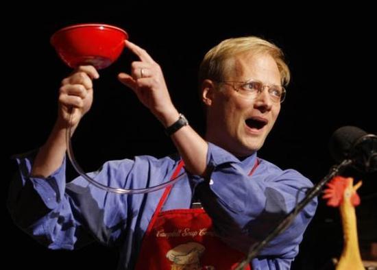 """万辛克的""""无底汤碗""""实验赢得了2007年的""""搞笑诺贝尔奖"""" 来源:Stan Honda"""