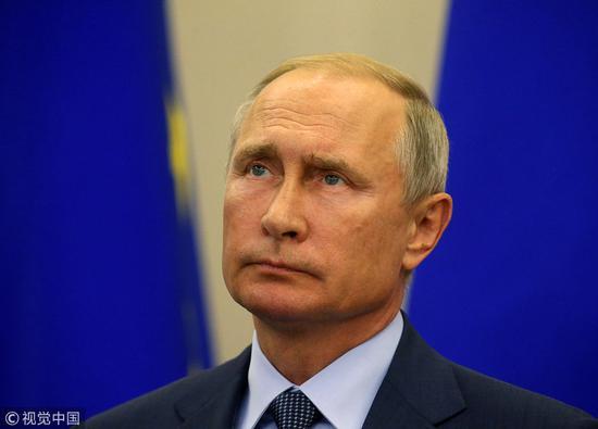 俄罗斯总统普京,图源:视觉中国