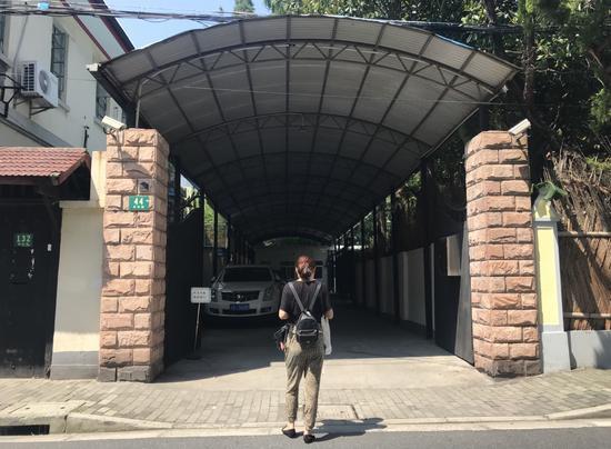 8月21日,李帆前往医疗事故鉴定中心。新京报记者 庞礴 摄