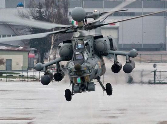 图为米-28N武装直升机