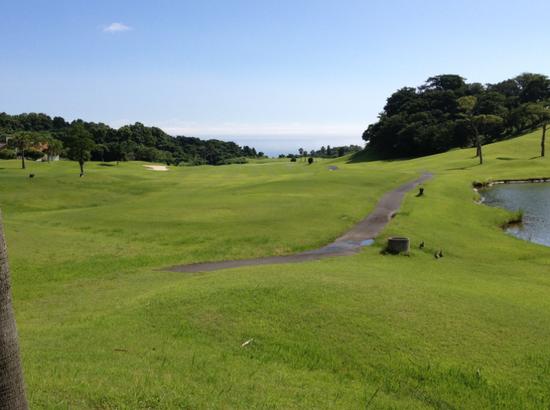 """日本高尔夫球场(""""天平洋蓝色乡村俱乐部""""官网)"""