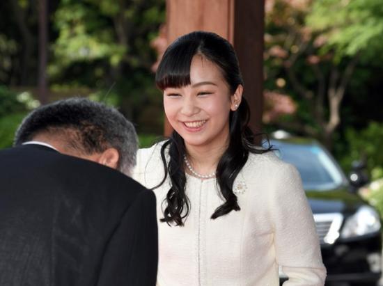 日本佳子公主(图:朝日新闻)