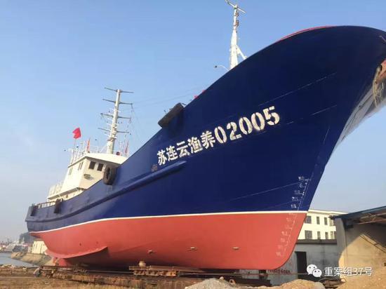 """▲前島公司""""海上保安隊""""用於護漁的船隻。受訪者供圖"""