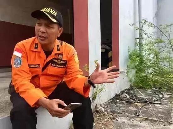 ▲2018年11月7日,46岁的Retno Budiharto在雅添达一个港口批准采访 图据《华盛顿邮报》