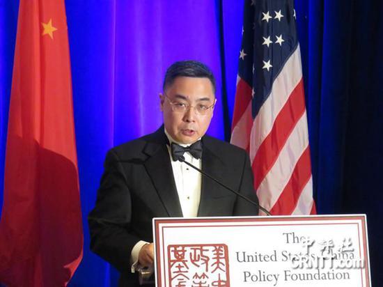 中国驻美公使李克新(来源:香港中评社)