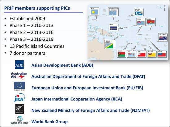 PRIF由亚开走挑议竖立,后者与日本国际协力机构(JICA)均为其挑供赞助