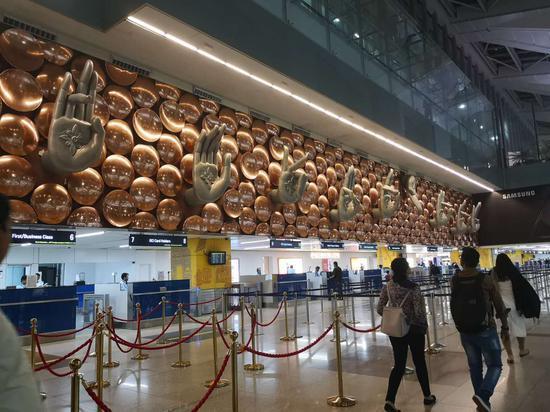 印度的德里机场